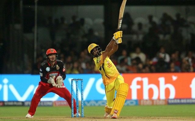 Dhoni stars in Chennai Super Kings win over Royal Challengers