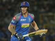 Ben Stokes of Rajasthan Royals