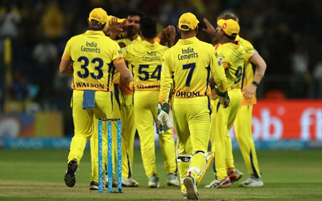 CSk prevailed in the contest. (AFP)