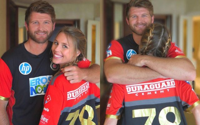 IPL 2018: Corey Anderson's girl is already missing him on her way back to  home