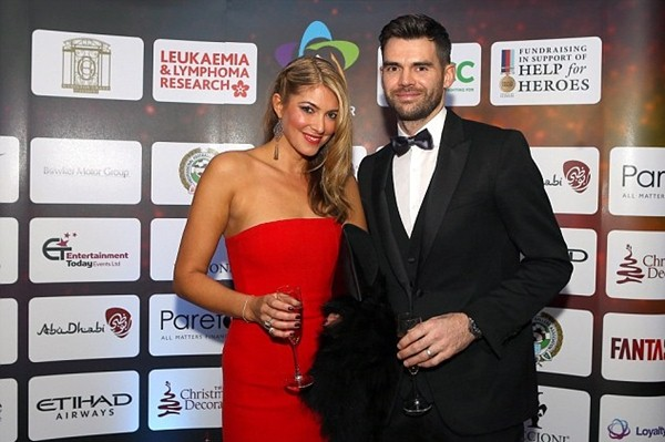 In Pictures: James Anderson and his model wife Daniella Lloyd