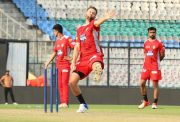 KXIP practice session