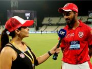 Preity Zinta and KL Rahul