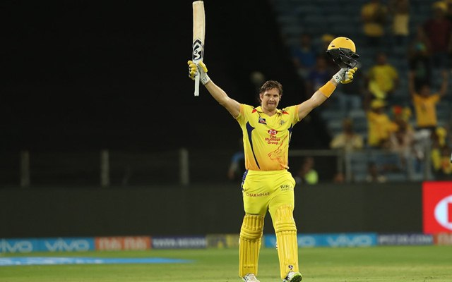 IPL 2018 : Chennai Super Kings win by four runs