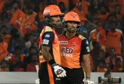 Shikhar Dhawan and Wriddhiman Saha Sunrisers Hyderabad