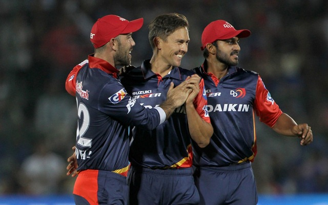 Trent Boult (18 wickets) was the leading wicket taker for Delhi Daredevils in IPL 2018. (photo source - IANS)