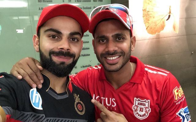 Virat Kohli and Manoj Tiwary