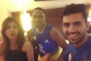 Deepak Chahar, his sister and Bravo tap their feet on the latter's new song