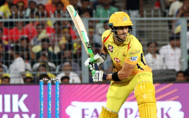 CSK hero Faf thanks fans after winning knock