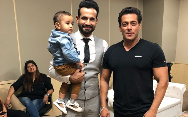 Irfan Pathan and Salman Khan