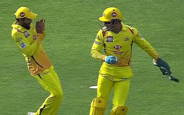 IPL 2018: MS Dhoni scares Ravindra Jadeja during match against Sunrisers Hyderabad