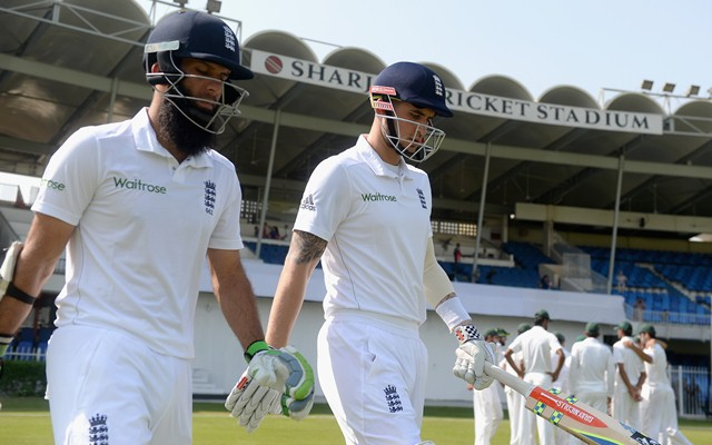 Moeen Ali and Alex Hales