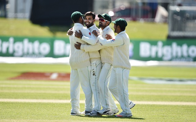 Pakistan off to steady start in first Test against Australia