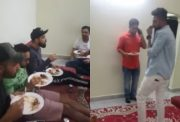 Virat Kohli along with RCB teammates enjoy Hyderabadi biriyani at Mohammed Siraj's house