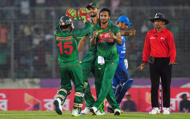 Afghanistan set Bangladesh 168 target to win first T20