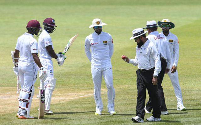Ball-change controversy delays start of play in St Lucia