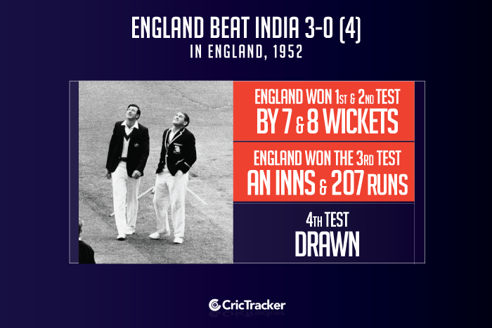 England-vs-India--in-England,-1952