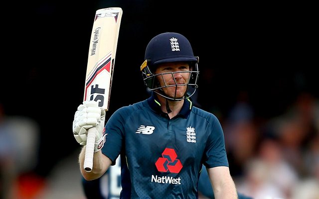 Eoin Morgan delights in win as he becomes England's leading run scorer
