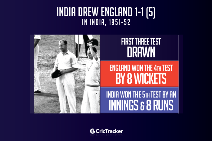 India-vs-England--in-India,-1951-52