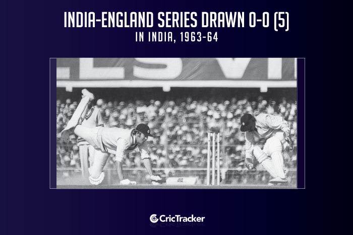 India-vs--England-series-drawn-0-0-(5)-in-India,-1963-64