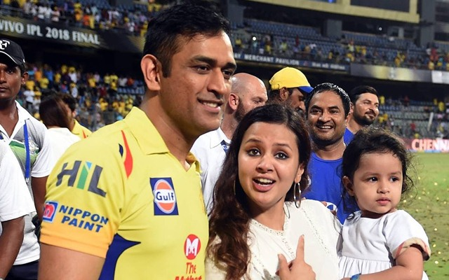Dhoni's wife applies for arms licence citing threat to life