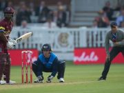 Nasser Hussain comes in as the on-field commentator