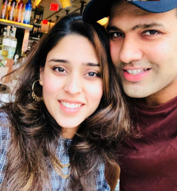 Rohit Sharma sports a new look