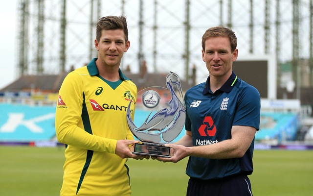 Tim Paine & Eoin Morgan