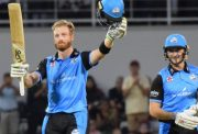 Martin Guptill and Joe Clark