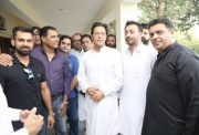 Mohammad Hafeez and Imran Khan