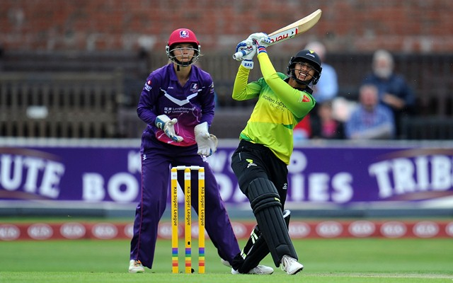 India's Smriti Mandhana hits joint fastest fifty in women T20s