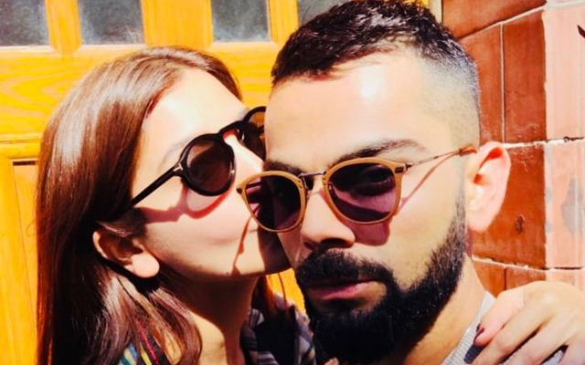 Netizens Troll Virat Kohli For His Hairstyle On Kissing Picture