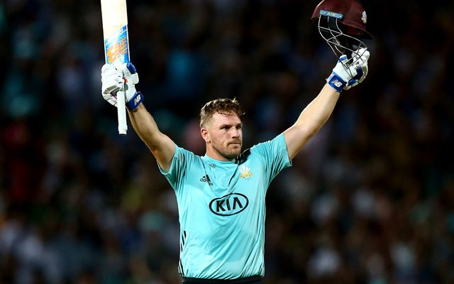 Aaron Finch of Surrey