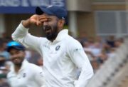 KL Rahul does a Dele Alli