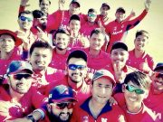 Nepal teammates celebrates their first ever ODI win