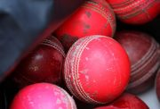 Pink and red ball