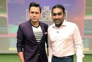 Aakash Chopra and Mahela Jayawardene