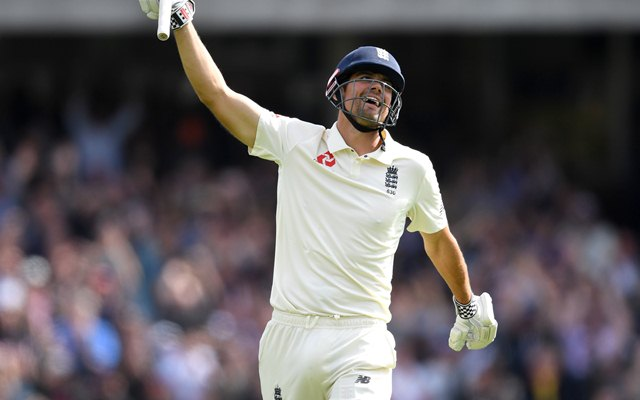Alastair Cook of England