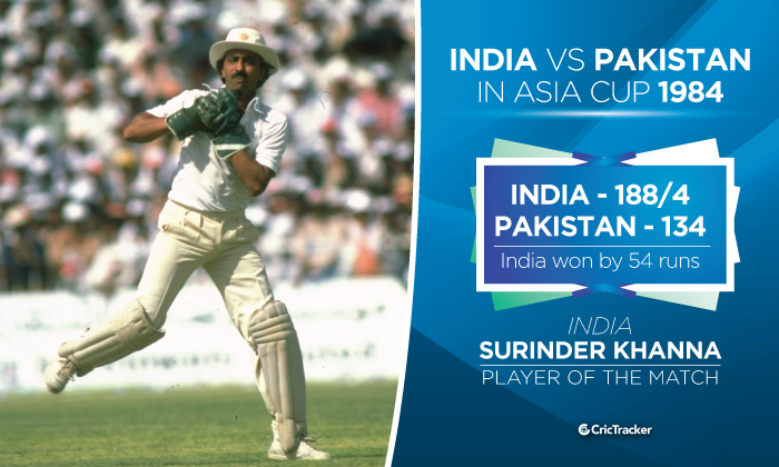 India vs Pakistan in Asia Cup: A history of the intense