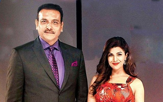 Image result for ravi shastri and nimrat kaur dating each other