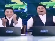 Pakistani anchor