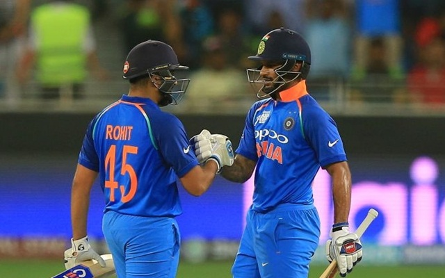 Shikhar Dhawan celebrates his 'unbreakable partnership' with fellow opener Rohit Sharma