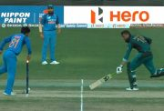 Shoaib Malik gets run-out