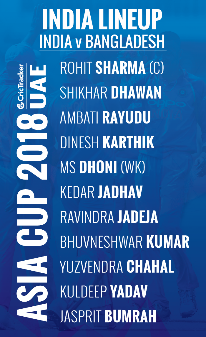 playing-xi-INDIA-FOR-ASIA-CUP-2018-MATCH-BETWEEN-India-vs-Bangladesh