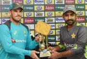 Aaron Finch and Sarfraz Ahmed
