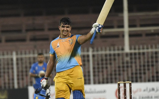 Afghanistan's Hazratullah Zazai smashes six sixes in an over