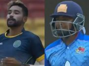 Mohammed Siraj and Prithvi Shaw