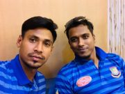 Mustafizur Rahman and Rubel Hossain