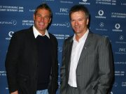 Steve Waugh and Shane Warne