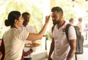Virat Kohli gets a warm welcome in Kerala